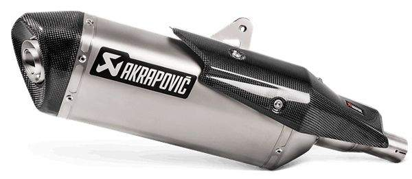 Escape Akrapovic Titanio Honda X-ADV detalle escape