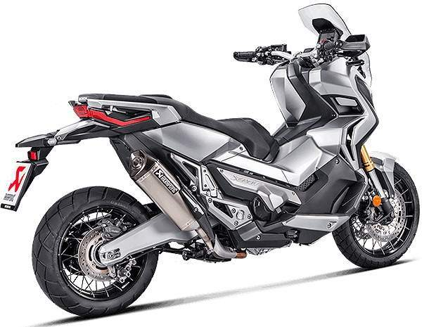 Escape Akrapovic Titanio Honda X-ADV vista lateral