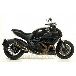 Escape Arrow Ducati Diavel 2010 Race-Tech Carbono copa Carbono 71768MK