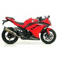 Escape Arrow Kawasaki Ninja 300 R 2013 Thunder Titanio copa Carbono 71801PK