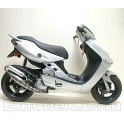 Escape Leovince Aprilia SR Racing (refrigeracion por agua) 1998-2002 Hand Made TT homologado 4039