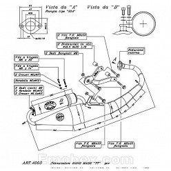 Escape Leovince Gilera Stalker 50 1997-2004 Hand Made TT homologado 4060