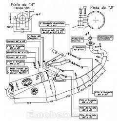 Escape Leovince Peugeot Ludix Blaster 50 (refrigeracion por agua) 2005 Hand Made TT homologado 4059