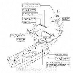Escape Sito Peugeot Ludix Blaster 50 (refrigeracion por agua) 2005 homologado 0723