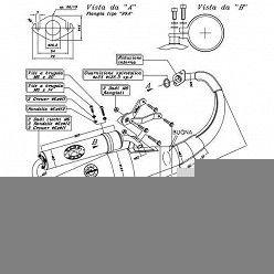 Escape Leovince Peugeot Speedfight 50 (refrigeracion por aire) 1997-1999 Hand Made TT homologado 4056
