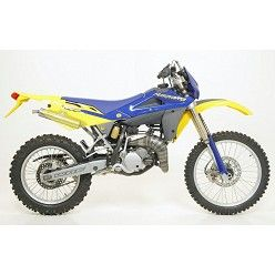 Escape Arrow Husqvarna WRE 125 2005-2008 Mini Thunder Titanio