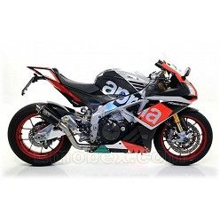 Escape Arrow Aprilia RSV4 RR - RF 2015-2016 GP2 Steel Dark