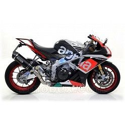 Escape Arrow Aprilia RSV4 RR - RF 2015-2016 Race-Tech Aluminio Dark copa Carbono