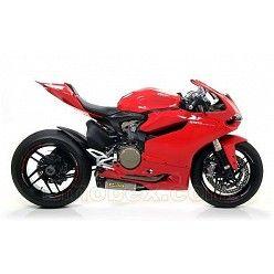 Arrow - Ducati 1199 Panigale 2012-2015 Works Titanio copa Carbono ref: 71836PK