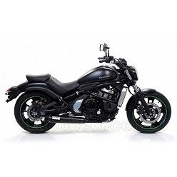Arrow - Kawasaki Vulcan S 650 2014 Rebel Inox negro copa Carbono ref: 74501RB