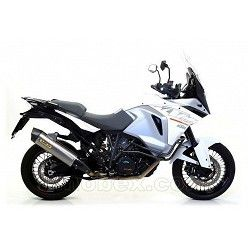 Escape Arrow KTM 1290 Super Adventure 2015-2016 Maxi Racetech Titanio