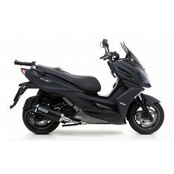 Escape completo Arrow Kymco K-XCT 300 2013-2016 Urban Dark Aluminio