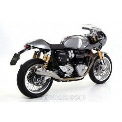 Escapes Arrow Triumph Thruxton 1200 2016-2018 Pro-Racing Nichrom copa Inox