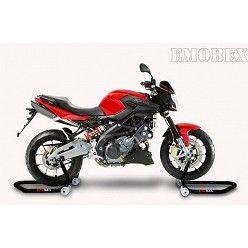 Caballete delantero moto con soporte tipo universal para Aprilia Shiver