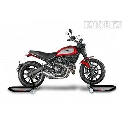 Caballete delantero moto con soporte tipo universal para Ducati Scrambler