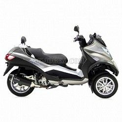 Escape Leovince Nero Piaggio MP3 LT 400 2007-2012 14005