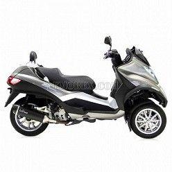 Escape Leovince Nero Piaggio MP3 LT 400 2007-2012 14005
