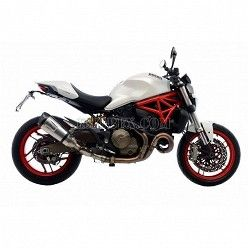 Escape Leovince Factory S Inox Ducati Monster 821 2014-2016 14135S