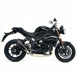 Escape Leovince Factory S Carbono Triumph Speed Triple 1050 - R 2011-2016 8514S