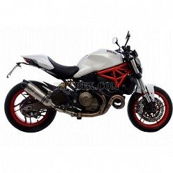 Escape Leovince LV EVO Inox Ducati Monster 821 2014-2016 14133E