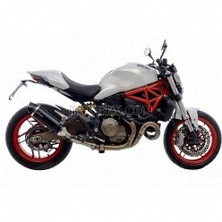 Escape Leovince LV EVO Carbono Ducati Monster 821 2014-2016 14134E