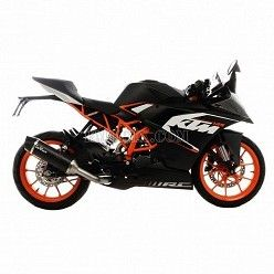 Escape Leovince LV EVO Carbono KTM RC 125 2015-2016 14168E