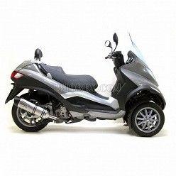 Escape Leovince LV EVO Inox Piaggio MP3 LT 400 - RST 400 2007-2012 8490E