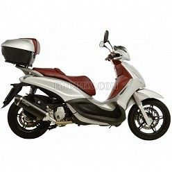 Escape Leovince Nero Piaggio Beverly 350 2010-2015 14025