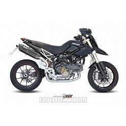 Escape MIVV Ducati Hypermotard 1100 Suono Steel Black D.022.L9