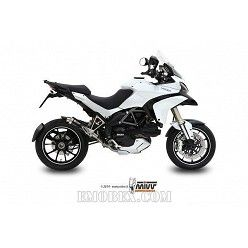 Escape MIVV Ducati Multistrada 1200 2010-2014 GP Steel Black D.027.LXB
