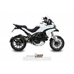Escape MIVV Ducati Multistrada 1200 2010-2014 Suono Steel Black D.027.L9