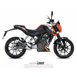 Escape completo MIVV KTM Duke 125 2014-2016 GP Steel Black KT.009.LXB