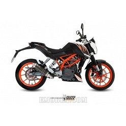 Escape completo MIVV KTM Duke 390 2013-2016 GP Steel Black KT.012.LXB