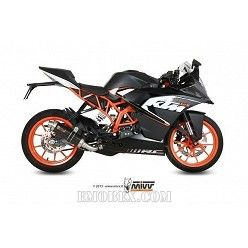 Escape completo MIVV KTM RC 125 GP Carbono KT.016.L2S