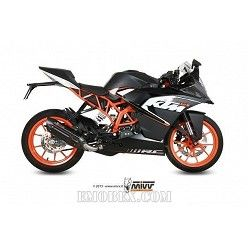 Escape completo MIVV KTM RC 125 Suono Steel Black KT.016.L9