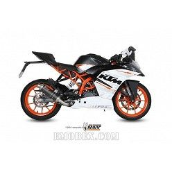 Escape completo MIVV KTM RC 390 2014-2016 GP Carbono KT.015.L2S