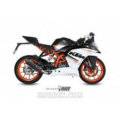 Escape completo MIVV KTM RC 390 2014-2016 Suono Steel Black KT.015.L9