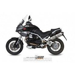 Escape MIVV Moto Guzzi STELVIO Speed Edge Inox M.009.LRX