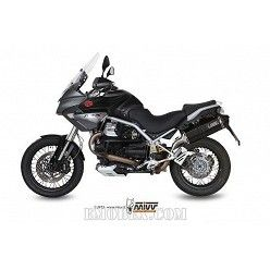 Escape MIVV Moto Guzzi STELVIO Speed Edge Steel Black M.009.LRB