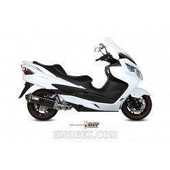 Escape completo MIVV Suzuki Burgman 400 Speed Edge Steel Black S.039.LRB