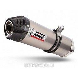 Escape MIVV Suzuki DL V-Strom 1000 Oval Titanio copa Carbono S.042.LNC