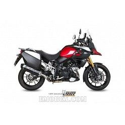 Escape MIVV Suzuki DL V-Strom 1000 Speed Edge Steel Black S.042.LRB