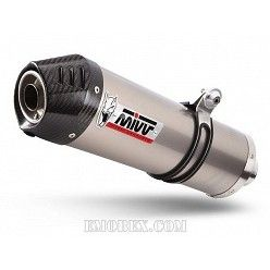 Escape MIVV Suzuki DL V-Strom 650 2007-2011 Oval Titanio copa Carbono S.027.L4C