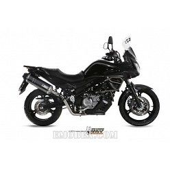 Escape completo MIVV Suzuki DL V-Strom 650 Speed Edge Steel Black S.038.LRB