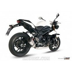 Escape MIVV Triumph Speed Triple 1050 2011-2015 Suono Inox T.012.L7