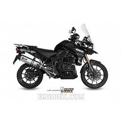 Escape MIVV Triumph Tiger 1200 Explorer 2011-2015 Speed Edge Inox