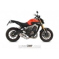 Escape completo MIVV Yamaha MT09 Oval Titanio copa Carbono Y.042.L4C