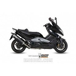 Escape completo MIVV Yamaha Tmax 500 2008-2011 Speed Edge Steel Black Y.035.LRB