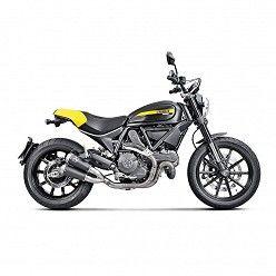 Escapes Akrapovic Ducati Scrambler 2015-2016 Titanio S-D8SO4-CUBTBL