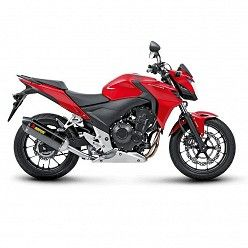 Escape Akrapovic Honda CB 400 X 2013-2016 Carbono copa Carbono S-H5SO2-HRC